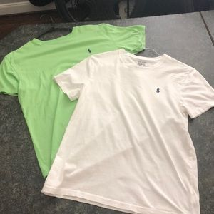 Bundle 2 polo Ralph Lauren T-shirt's